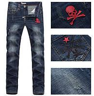 Новомодные мужские джинсы PHILIPP PLEIN 32-36 р. Отличное качество. Доступная цена. Дешево. Код: КГ1540