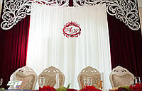 Королевский свадебный герб с инициалами, фото 1
