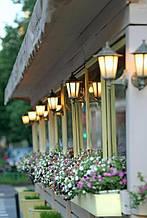 Настінні світильники вуличні