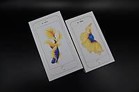Заводские коробки для iPhone 6s & 6s Plus Gold. Печать имей.