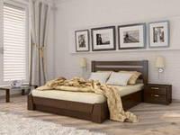 Деревянная кровать «СЕЛЕНА» (бук) с подъемным механизмом
