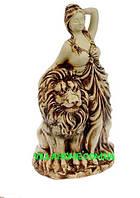 """Оригинальная скульптура """"Девушка с львом"""". Садово-парковая скульптура. Заходи к нам!"""