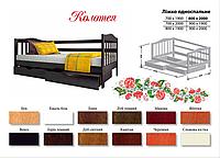 Кровать Колотея (бук массив)