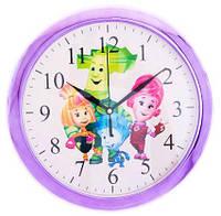 """Детские настенные часы """"Фиксики"""" d1"""