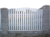 Металевий штахетник   (ширина 10,5см)