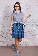 Женское легкое платье - лето 2018 - от производителя - Код пл-217, фото 1