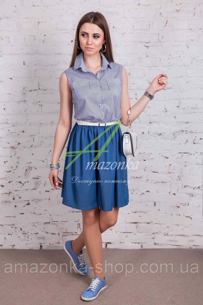 Женское легкое платье - лето 2018 - от производителя - Код пл-217