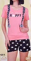 Комплект женский футболка+шорты  80726