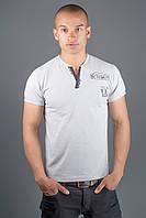 Мужская футболка Систем р. 44-58 серый