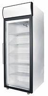 Холодильный шкаф POLAIR DM105-S со стеклянной дверью и лайтбоксом