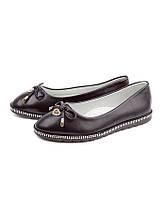 Туфли - балетки на каждый день для девочек от производителя Леопард H28-1 (8пар,32-37)