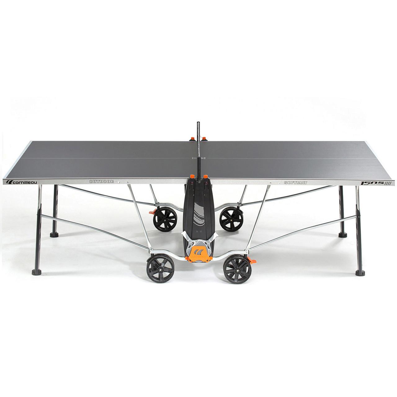 Теннисный стол всепогодный Cornilleau 150S Crossover outdoor Grey серый