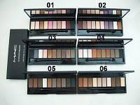 Палитра тенейдля век MAC10 Colors Eyeshadow