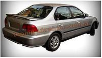 Спойлер со стопом под покраску на Honda Civic 6 1995-2001