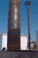 Монтаж резервуаров РВС из рулонированных конструкций