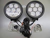 Cветодиодная фара LED М 11 - 70 W Spot, 2штуки