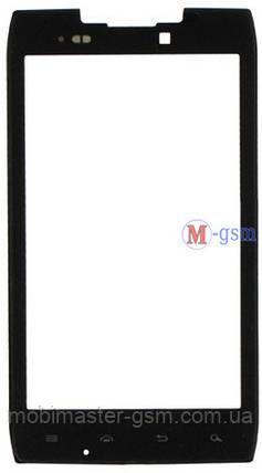Корпусное стекло на  Motorola XT910, XT912 черное, фото 2