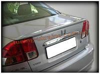 Анатомический спойлер под покраску на Honda Civic 7 2001-2005