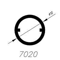 АЛЮМИНИЕВЫЙ ПРОФИЛЬ ALTINEL ЗОЛОТО L=3М (7020)