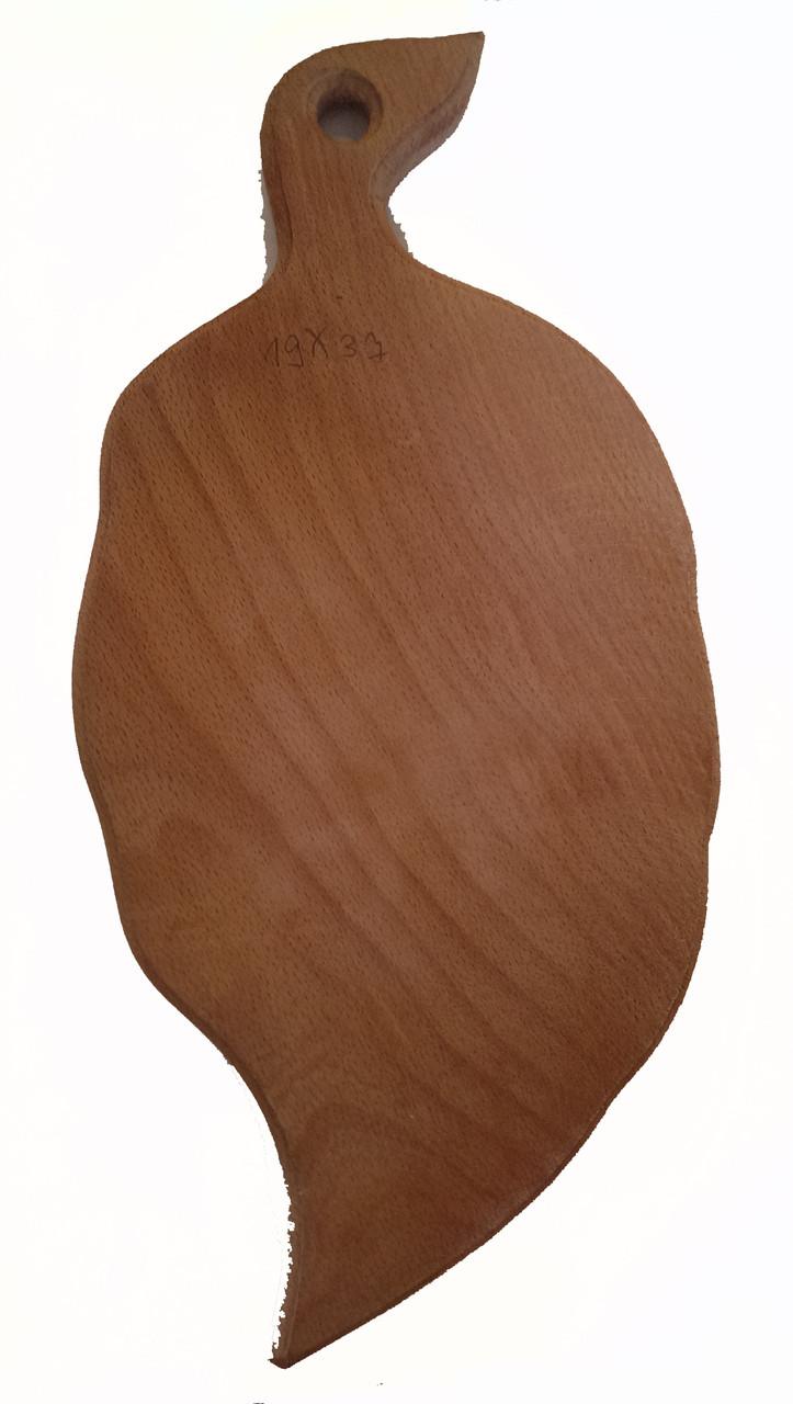 Доска разделочная деревянная  19*37 буковая  оптом и в розницу