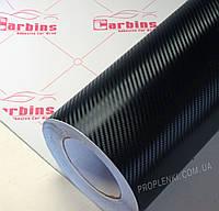Пленка черный карбон 3D для оклейки авто «Carbins»