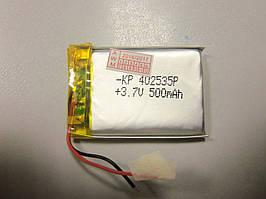 Внутрішній Акумулятор 4*25*35 (500 mAh 3,7 V) 042535 AAA клас в Запоріжжі