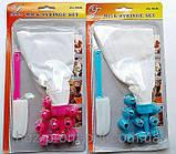 Кондитерский мешок с дополнительными насадками +  лопатка., фото 2