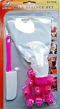 Кондитерский мешок с дополнительными насадками +  лопатка.