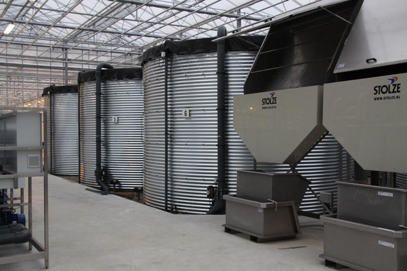 Модульный резервуар 1500 м.куб.