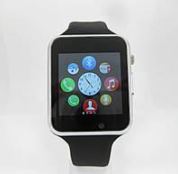 Умные часы Smart Watch A1. 1 sim, 1 sd card. Серебристый и черный.