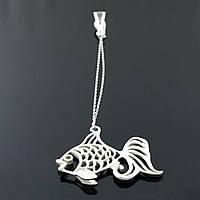 Серебряный сувенир Ионизатор воды Рыбка