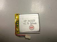 Внутренний Аккумулятор 4*31*36 (500 mAh 3,7V) 043035 AAA класс в Запорожье