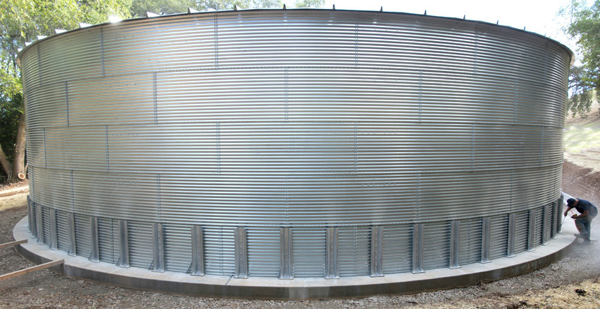 Модульный резервуар 2000 м.куб.