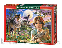 "Пазлы CASTORLAND 1000 ""In the Full Moon Light""  ПЗ-102785"