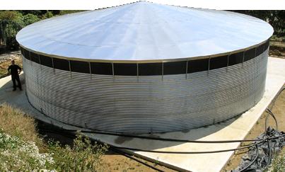 Модульный резервуар 2500 м.куб.