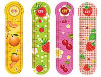 """Закладки пластиковые для книг  (4шт.) """"Fruit"""""""