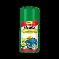 Tetra Pond MediFin 3л-универсальный лекарственный препарат для борьбы с болезнями прудовых рыб(136267)