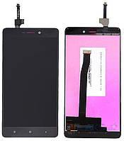 Дисплей (экран) для телефона Xiaomi Redmi 3, Redmi 3 Pro, Redmi 3S, Redmi 3S Prime, Redmi 3X + Touchscreen Black