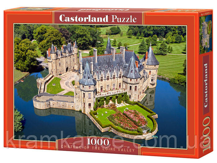 """Пазлы CASTORLAND 1000 """"Chateau of the loire Volley"""" ПЗ-103072"""