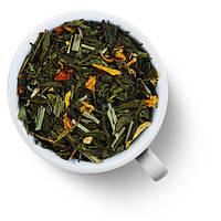 Чай зеленый Лимонный крем с женьшенем