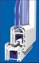 Окна металлопластиковые из четырехкамерного Wintech 640 серии