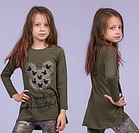 Туника на девочку Турция. Safari Kids 7538-2 7-R. Размер на 7 лет.