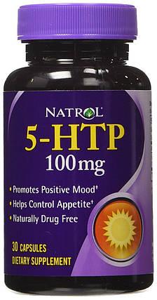 5-HTP 100 mg Natrol 30 Caps, фото 2