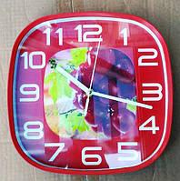 """Часы кухонные настенные """"Фрукты"""" 35079"""