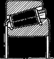 Подшипник качения роликовый радиально-упорный конический однорядный 27616 (32316) Подшипник (ББ)