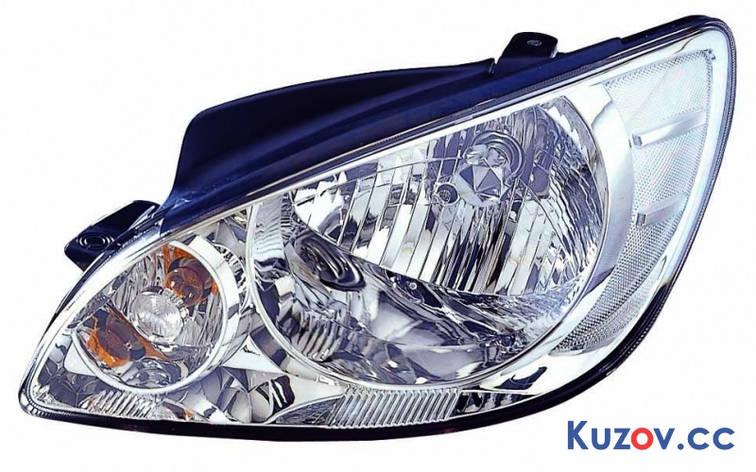 Фара Hyundai Getz 06-11 левая (Depo) механич. 221-1141L-LD-E 921011C500, фото 2