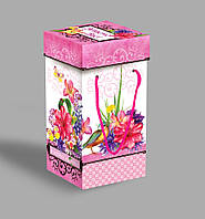 Картонная подарочная коробка со шнурками 1000 г