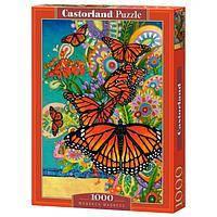"""Кастор пазлы 1000 """"Бабочки Монархи"""", С-103492"""