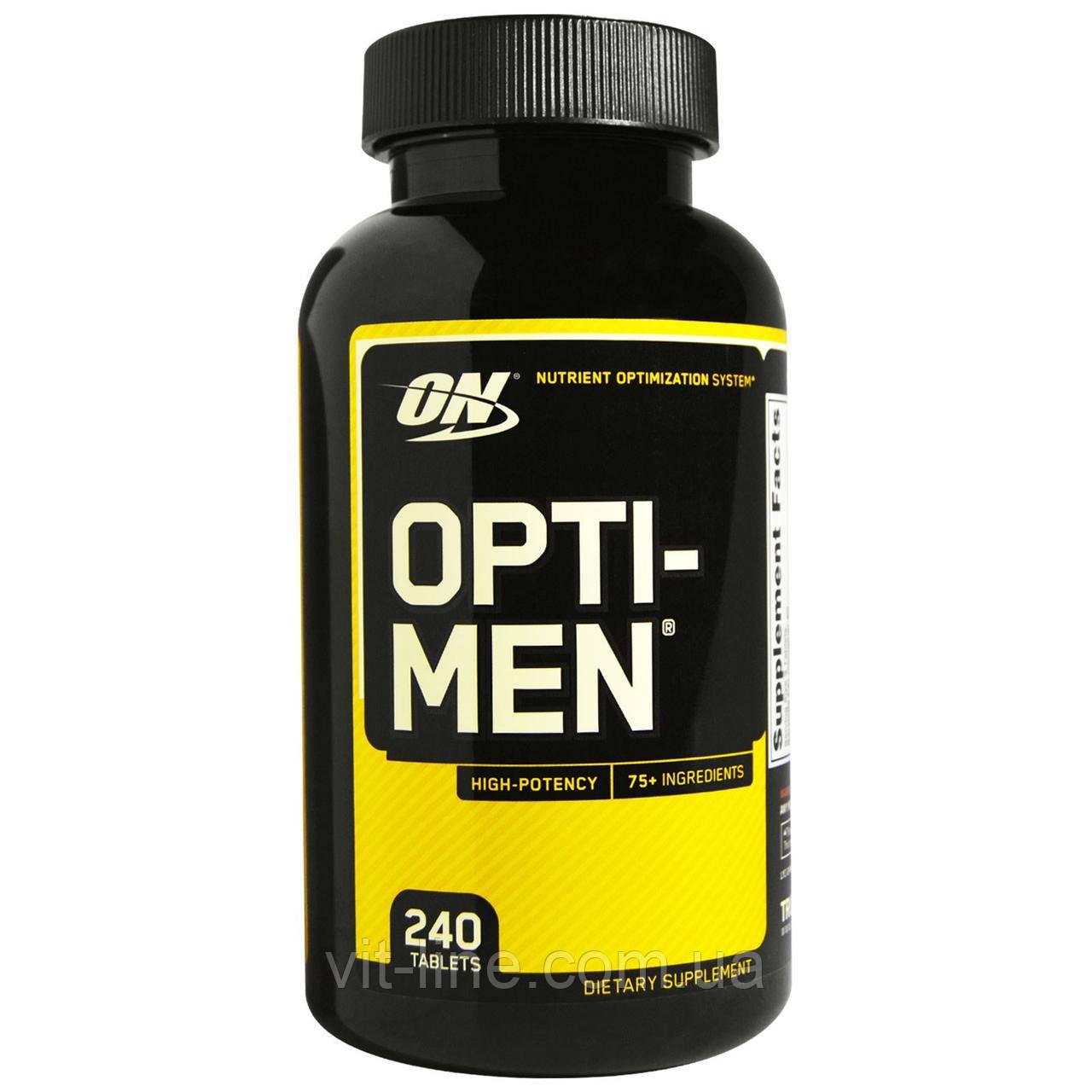 Optimum Nutrition, Opti-Men, 240 Таблеток