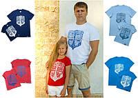 """Парные футболки для папы и детей """"LikeMe"""""""